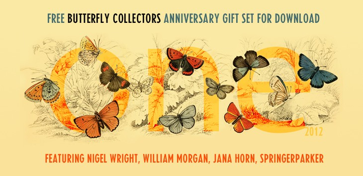 Butterfly Collectors One Year Anniversary - free gift set