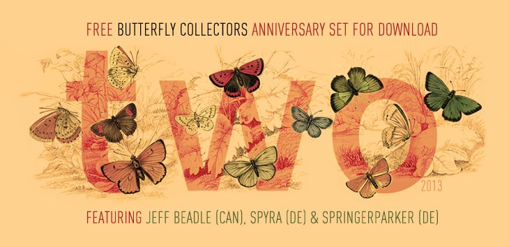 BUTTERFLY COLLECTORS TWO YEAR ANNIVERSARY - FREE COMPILATION
