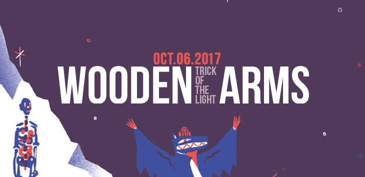 Wooden Arms - Trick Of The Light - Out today!