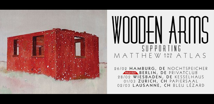 Wooden Arms supporting Matthew And The Atlas