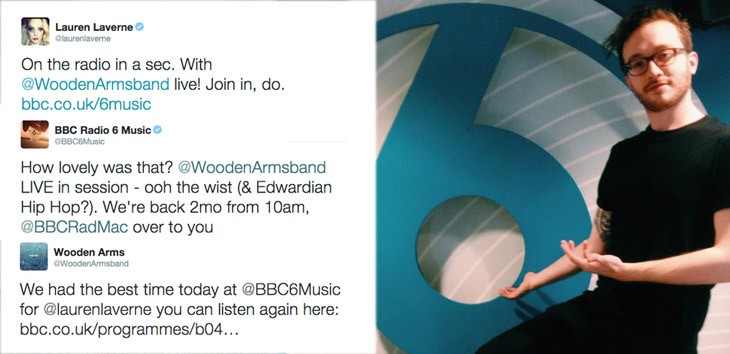 BBC sessions: Wooden Arms at Lauren Laverne